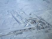 English: Denver International Airport on a flight from San Francisco to Washington, 22. Dec. 2006