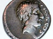 Lucius Cornelius Sulla - a denarius portrait issued by his grandson.