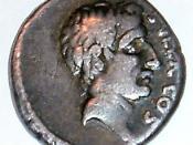 Lucius Cornelius Sulla - a denarius portrait issued by his grandson.