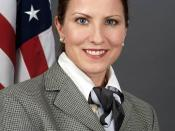 Official portrait of Securities and Exchange Commission (SEC) Commisioner Kathleen L. Casey.