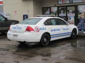 Memphis Police Department (MPD) vehicle. Chevrolet Impala of the MPD D.U.I. Unit.
