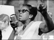 English: Image of Ella Baker, an African American civil rights and human rights activist.