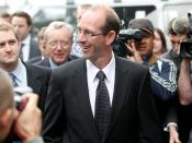 English: David Bain after he was proven innocent
