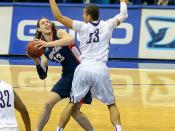 USD Toreros vs Gonzaga Bulldogs 02-02-13 Kelly Olynyk