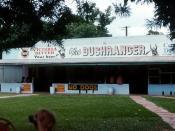 Adelaide River Bushranger Hotel 1977