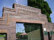 English: Henson park, Gate