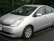 2004-2007 Toyota Prius photographed in College Park, Maryland, USA.