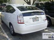 English: Toyota Prius Hybrid, Miami, Florida