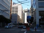 Spear Street, Financial District, San Francisco, California