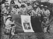 South Africans at Moyale after the Italian forces had withdrawn. 1941