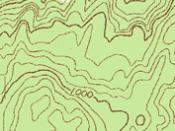 English: contour lines Česky: vrstevnice