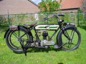 English: 1922 Triumph H 1. Nederlands: Trusty Triumph.