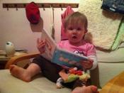 Riley reading
