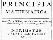 English: Isaac Newton: Principia Mathematica Español: Portada de una obra cumbre de la Revolución científica: los Principia Mathematica de Isaac Newton