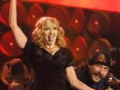 English: Madonna performing