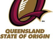 Badge of Queensland Maroons team