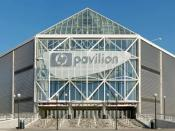 English: The HP Pavilion is a sports venue in San Jose, California, best known as the home of the San Jose Sharks (pro hockey), but also hosts the SAP Open (men's tennis tournament) and San Jose SaberCats (arena football). It hosts about 160 events a year