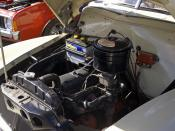 English: 1953-1956 Holden FJ engine.