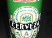 SPAR store brand beer...