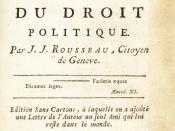 English: This is the title page of an early pirated edition of Rousseau's Social Contract, probably printed in Germany. See R.A. Leigh, Unsolved Problems in the Bibliography of J.-J. Rousseau, Cambridge, 1990, plate 22. This image was incorrectly posted a