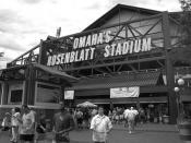 Rosenblatt Stadium B&W