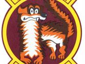 A weasel, nicknames Willie, figured prominently in many official and unofficial Wild Weasel patches and logos.