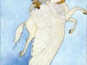 """""""Yes, there he sat, on the back of the winged horse!"""""""