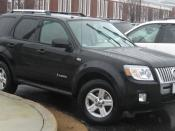 2008 Mercury Mariner photographed in College Park, Maryland, USA. Category:Mercury Mariner Hybrid (second generation)