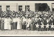 Mothers of McLennan Co., whose hearts and hopes are in France, assembled for the 4th Liberty Loan Parade, Sept. 27th, 1918 (LOC)