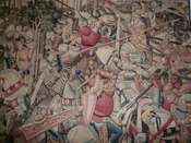 BLW Tapestry, The Battle of Roncevaux