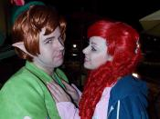 Ariel is in love.. Peter is not