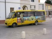 English: Tresigallo school bus, driver side