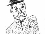 Sketch of W. Somerset Maugham