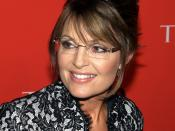 English: Sarah Palin at the Time 100 Gala in Manhattan on May 4, 2010