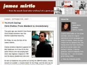 My Chelios snap on Mirtle's site