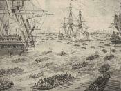 English: British invasion of Long Island in 1776