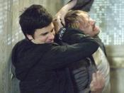 Steven attacks his stepfather Ian (2007).