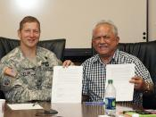 USACE, Lummi Nation meet for final signatures