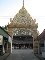 English: Mae Sot temple