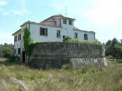 English: Barracks in Gombo, San Rossore, Pisa, Tuscany, Italy Italiano: Caserma abbandonata presso il Gombo, in San Rossore (PI)