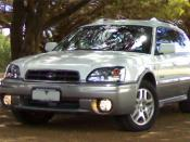 English: 1999-2003 Subaru Outback, photographed in Australia.
