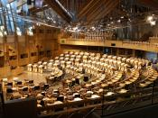Scottish Parliament, Holyrood, Edinburg