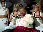 Orson Welles as Le Chiffre in Casino Royale (1967)