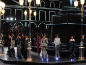 English: Chanel Haute Couture Fall-Winter 2011-2012 Fashion Show held at Grand Palais in Paris