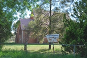 English: St Columbanus Roman Catholic church at Wombat, New South Wales