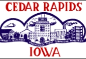 Flag of Cedar Rapids, Iowa