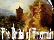 English: This cover art was designed for Walter Scott's narrative poem: The Bridal of Triermain.