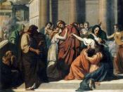 Oedipus Separating from Jocasta