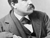English: William Dean Howells (1837-1920), author & critic