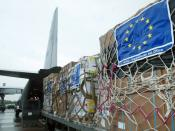 Collectively, the EU is the largest contributor of foreign aid in the world.